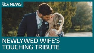 Newlywed wife's touching tribute to killed Pc Andrew Harper | ITV News