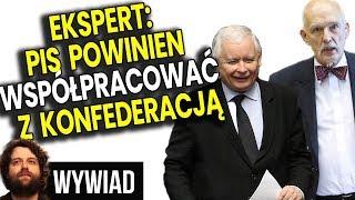 Mocne Słowa Eksperta: Jeśli PIS Chce Wygrać Musi Współpracować z Konfederacją  Analiza Komentator PL