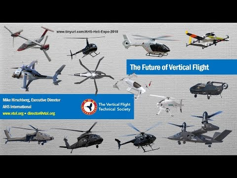 The Future of Vertical Flight​: Heli-Expo 2018 Press Briefing