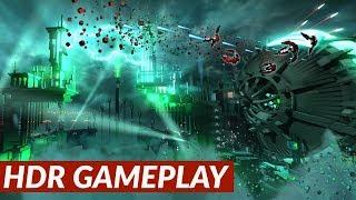 RESOGUN - HDR gameplay [PS4 Pro]