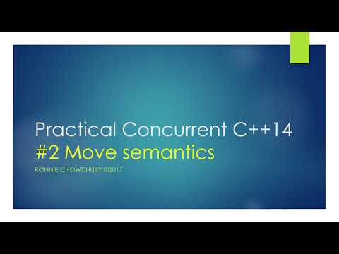 Options portfolio pricer in modern C++ 14 - Move construction