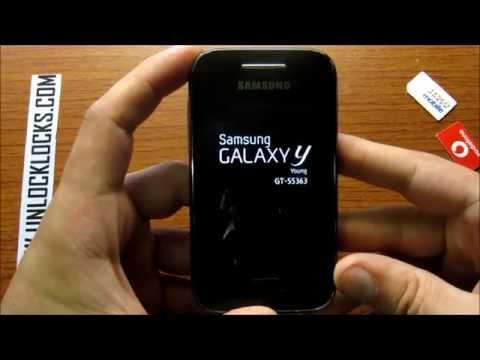 samsung galaxy y gt s5360 password unlock code