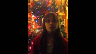 Sarah singing The Season to be Singing