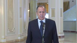 Комментарий С.Лаврова по итогам встречи с Н.Назарбаевым