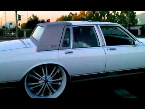 Cocaine Box Chev on 28's Stuntin Yeah U see it!!!