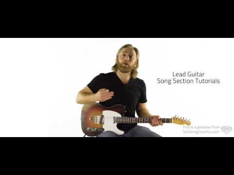 Hometown Girl Guitar Lesson and Tutorial - Josh Turner