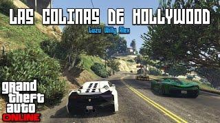 MALDITO HOLLYWOOD!! - Carreras GTA V con Willy y Alex - [LuzuGames]