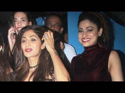 Shilpa Shetty And Shamita Shetty Party Together!