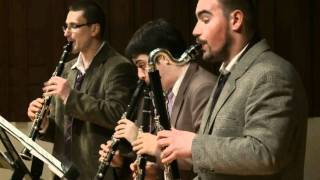 "Dizzy fingers - Clarinet quartet ""Nevsky"""