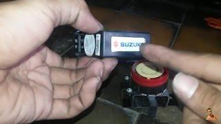 tutorial memasang alarm system original suzuki satria injeksi/Fi