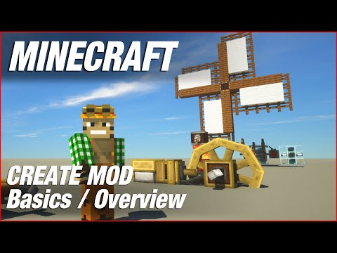 Create Mod Basics - Minecraft
