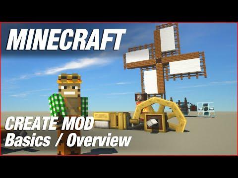 Create Mod Basics - Minecraft