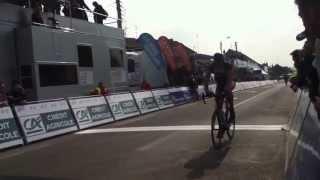 Arrivée 2eme etape 4 jours de Dunkerque