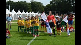E-Mädels Mini-WM AUSTRALIEN - BELGIEN 2:0; FINALE KAUFLAND-Kidscup Frankfurt 2018