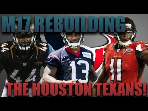 Madden 17 Franchise   Rebuilding The Houston Texans! Braxton Miller GOAT Qb?!