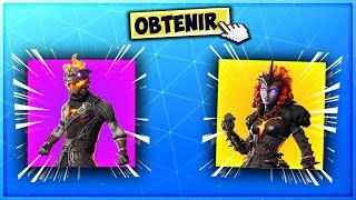 "OBTENIR THIS PACK OF SKINS ""LAVA LEGENDS"" WITH THE MAJ 8.20 On Fortnite! (season 8)"