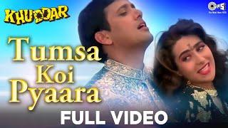 Tumsa Koi Pyaara - Khuddar | Govinda & Karisma Kapoor | Kumar Sanu & Alka Yagnik