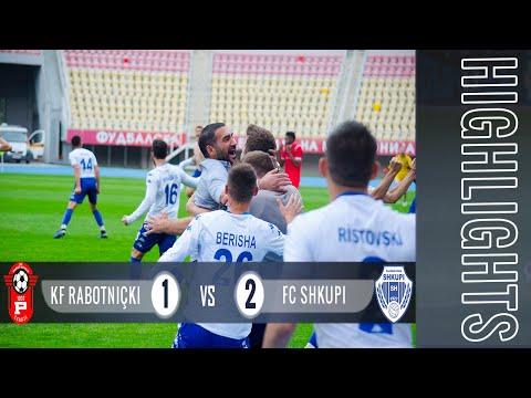HIGHLIGHTS | KF Rabotnicki Vs FC SHKUPI 1:2 (0:0)