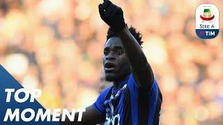 Zapata Wonderful Strike   Udinese 1-3 Atalanta   Top Moment   Serie A