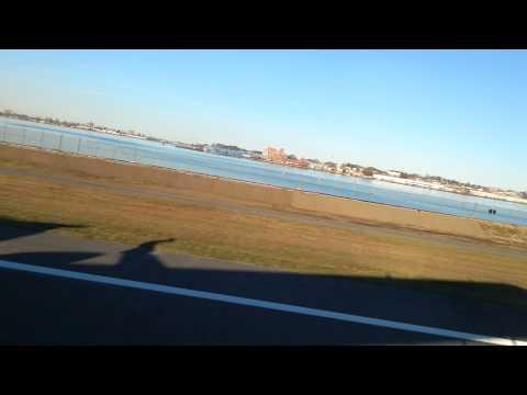 Powerful Takeoff New York Delta CRJ-900 LGA-RDU Beautiful View of New York
