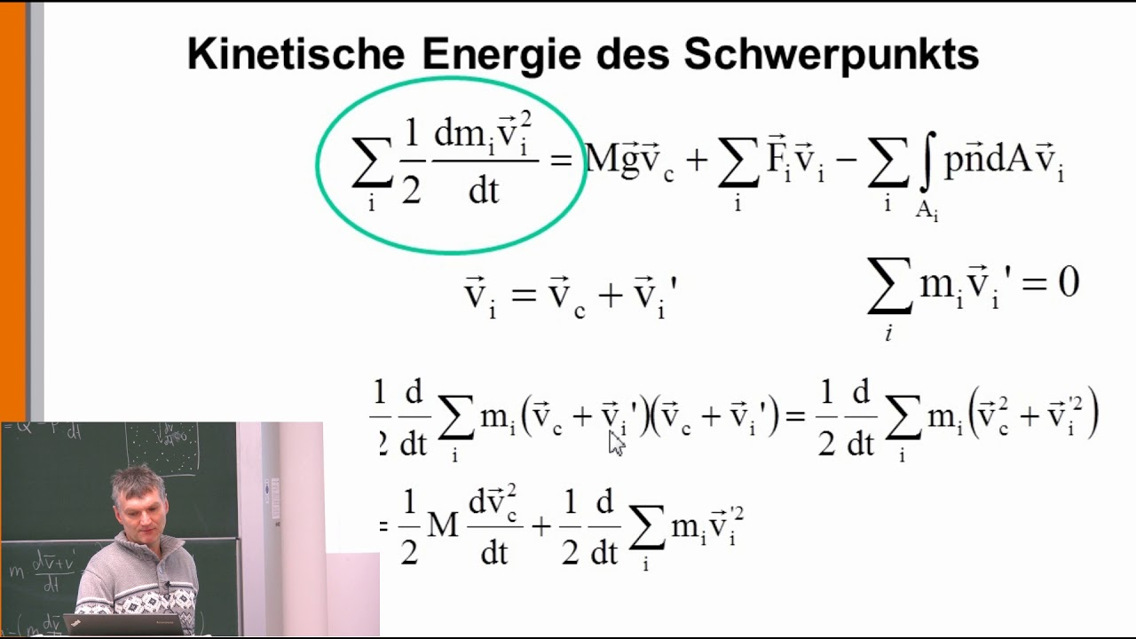 Thermodynamik 6 Der Erste Hauptsatz