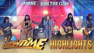 Janine Berdin and Join the Club's soothing acoustic performance | It's Showtime