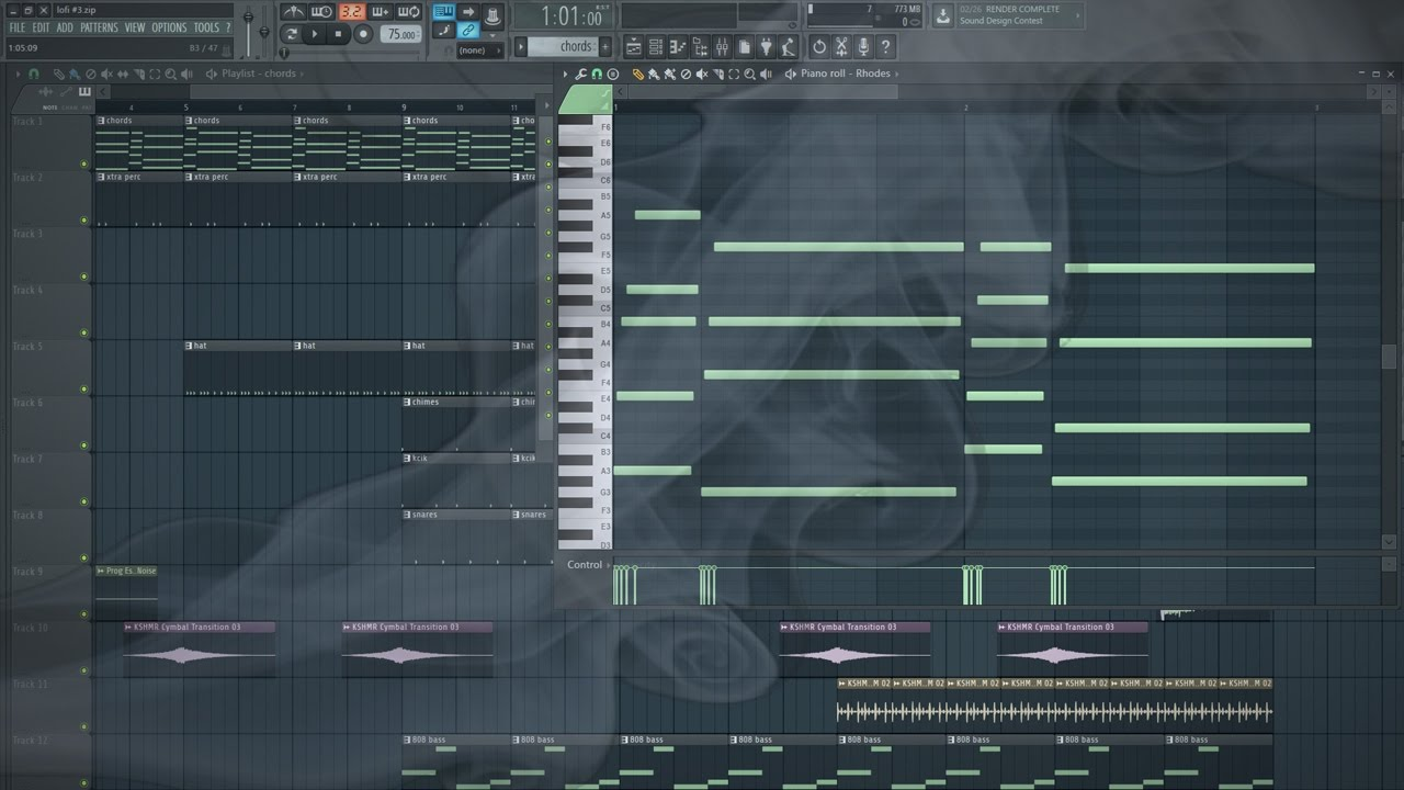 Free Hip Hop MIDI Library by Subaqueous
