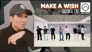 "Performer Reacts to NCT U ""Make A Wish"" Dance Practice"