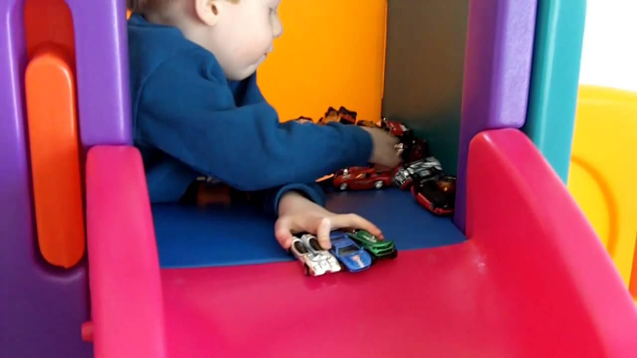 Malachi\'s New Little Tikes Playground (1-8-2011) - YouTube