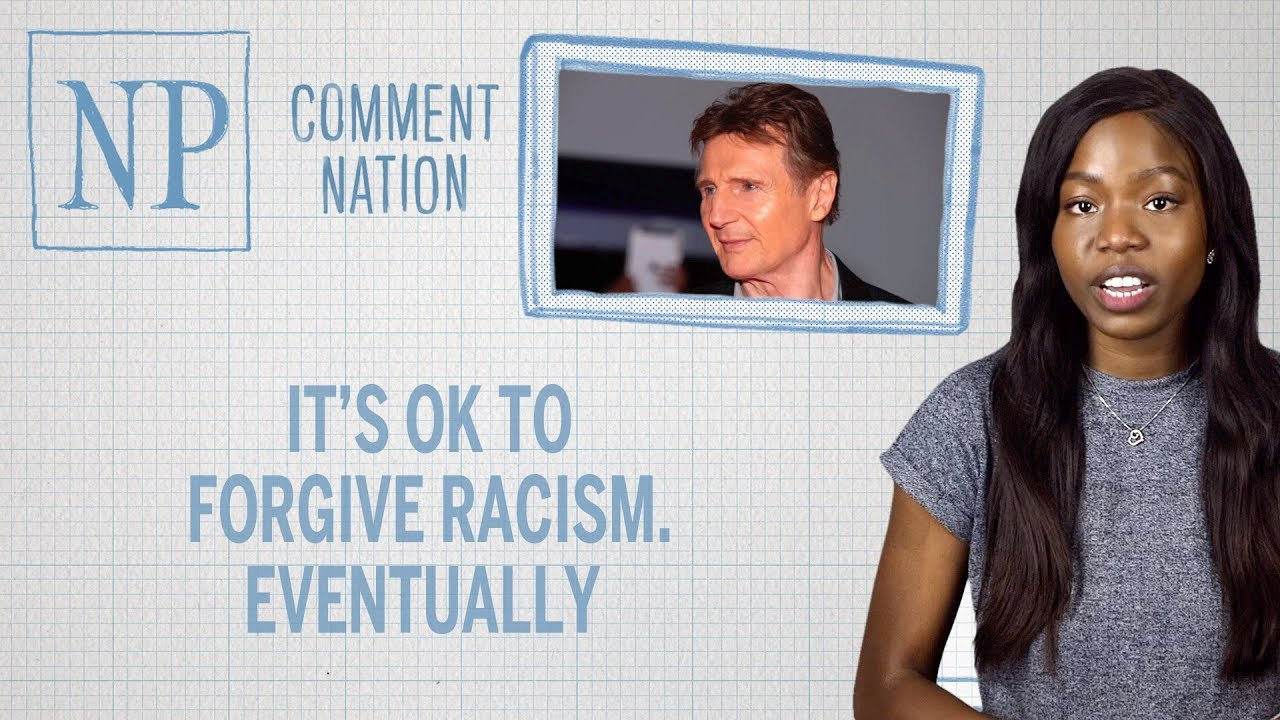 It's OK to forgive racist stuff. Eventually