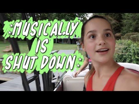 Musical.ly Is Shut Down (WK 396.3) | Bratayley