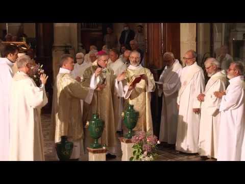 Messe Chrismale 2020, bénédiction des huiles pour les sacrements