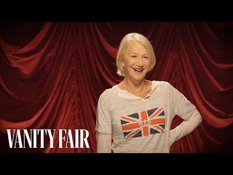 Helen Mirren Is Terrifying with a Whip | Secret Talent Theater | Vanity Fair