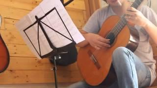 Bài ca hy vọng - C/s Cố nghệ sỹ Hải Thoại classical guitar: Ngô Minh