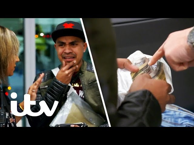 Border Force Stop a Man With a Massive Amount of Cash!   Heathrow: Britain's Busiest Airport