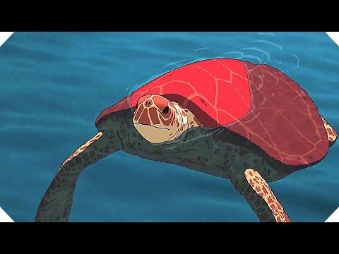 LA TORTUE ROUGE : les Extraits du Film (Animation - Cannes 2016)