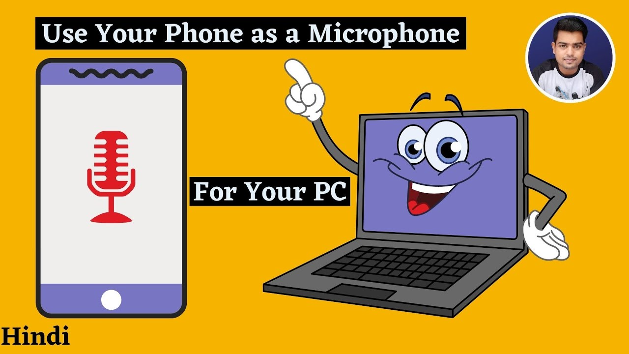 Phone As Wireless Microphone Phone As Mic For Pc Via Wifi How To Use Phone As Mic For Pc Hindi Youtube