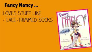 Fancy Nancy Book Trailer | Videos for Writers