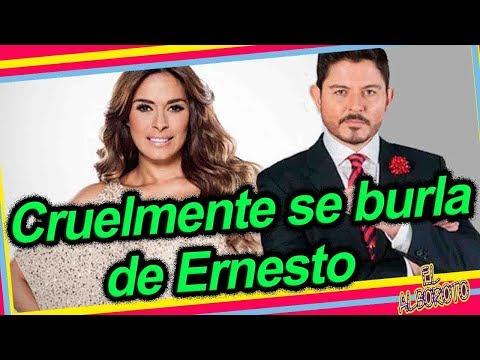 Por chismoso Galilea Montijo da fuertes declaraciones contra Ernesto Laguardia