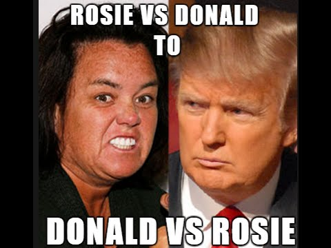 Thumbnail: Donald Trump Rosie O'Donnell Montage of Insults!
