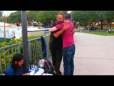 Homeless Man does Incredible act - Social Experiment!