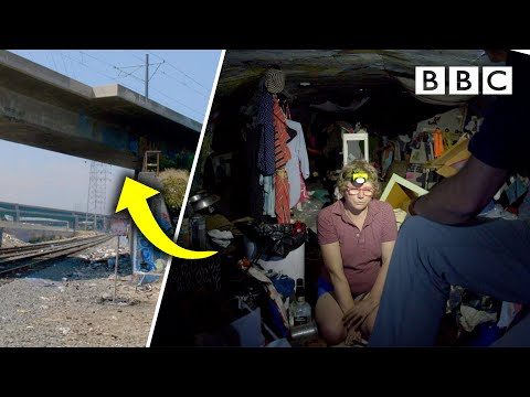 Living In A Bridge: Homeless In L.A.   The Americas With Simon Reeve - BBC