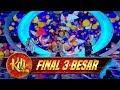 Pecah Abis Penampilan Boyband Asal Korea GTI SAYANG  - Final 3 Besar KDI (25/9)