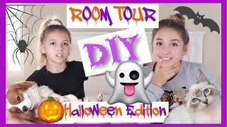ROOM TOUR ! | DIY Pet Haunted House Tour! | Halloween 2018 | Quinn Sisters