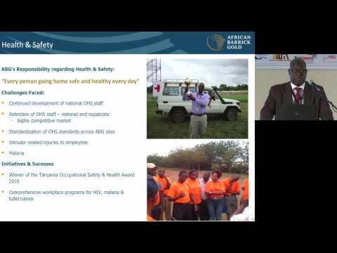 Mining Business and Investment East Africa 2011 - African Barrick Gold