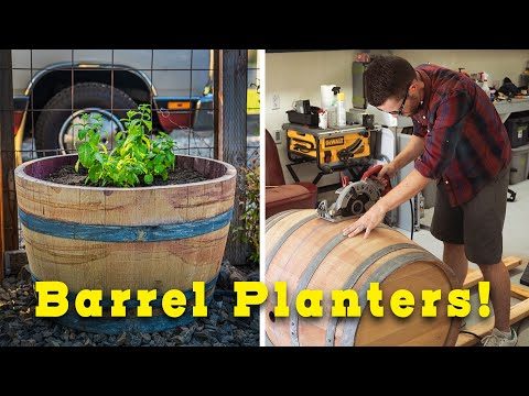 make-your-own-barrel-planter!-cheap-easy-diy