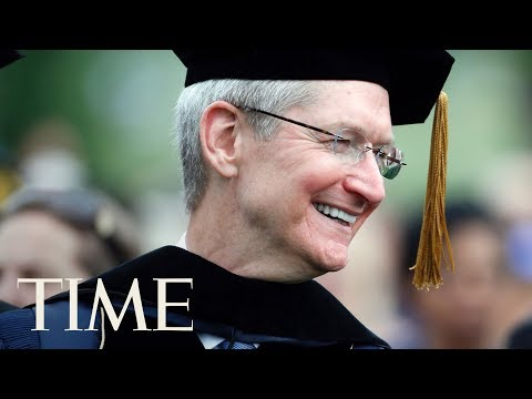 Apple CEO Tim Cook Delivers The 2017 MIT Commencement Speech | TIME