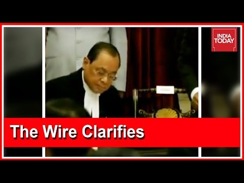 Website 'The Wire' Which SC Alleges Leaked CVC Report Issues Clarification