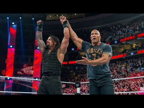 The Rock comes to Roman Reigns' aid: Royal Rumble 2015