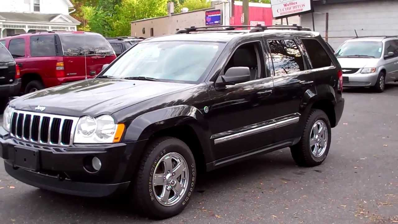 2005 jeep grand cherokee limited 4wd hemi tv/dvd navigation - youtube